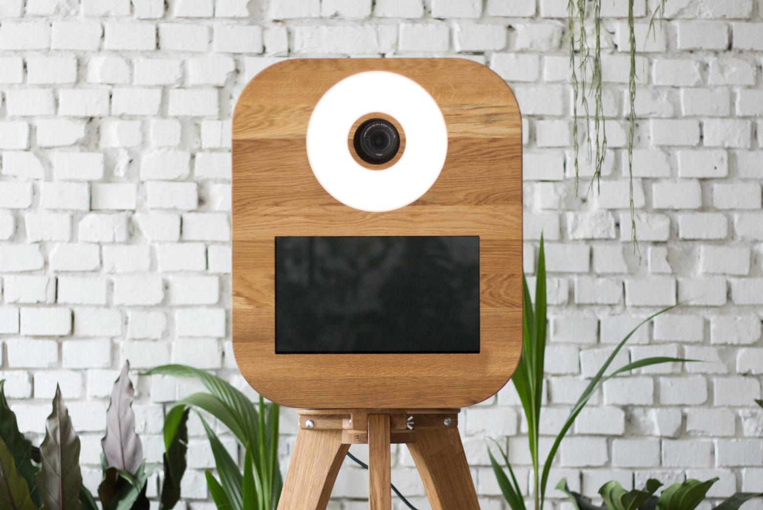 fotobudka retro, fotobudka rustykalna z drewna